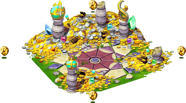 Treasure clipart pile diamond. Habitat dragonvale wiki fandom