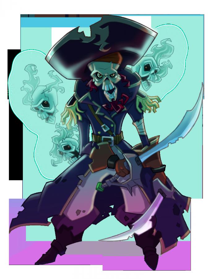 Idiocracygames blue skull. Treasure clipart pirate island