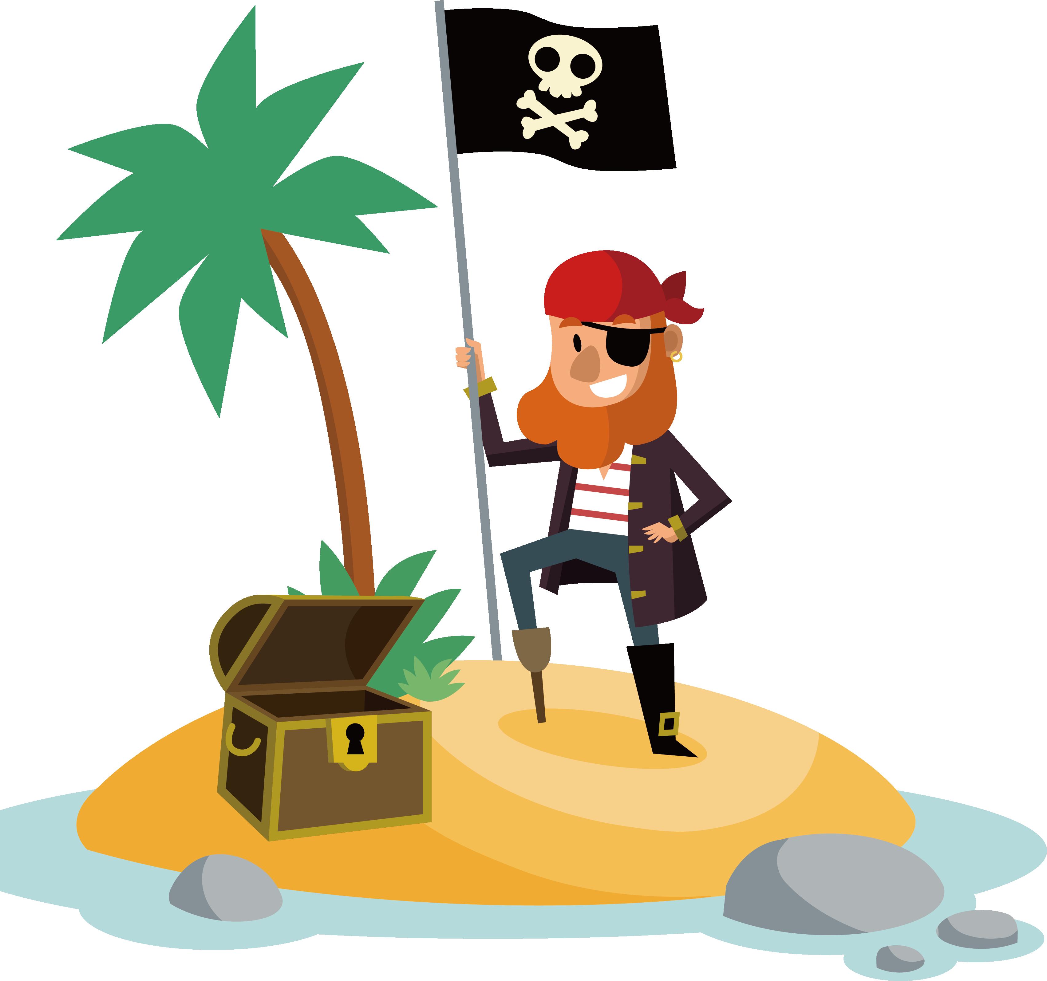 Hotel and casino drawing. Treasure clipart pirate island