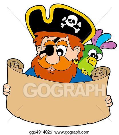 Treasure clipart reading. Stock illustration pirate map