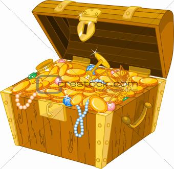 Treasure clipart riches. Image chest