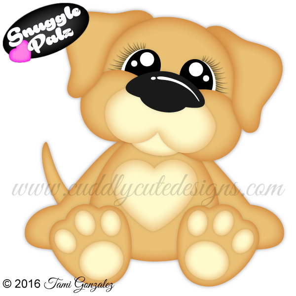 Snuggle palz dog painting. Treasure clipart rock