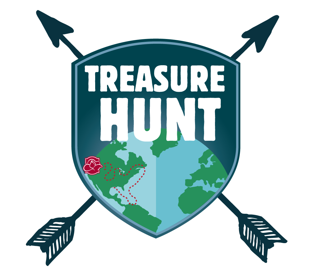 Hunt oregonian media group. Treasure clipart scavenger