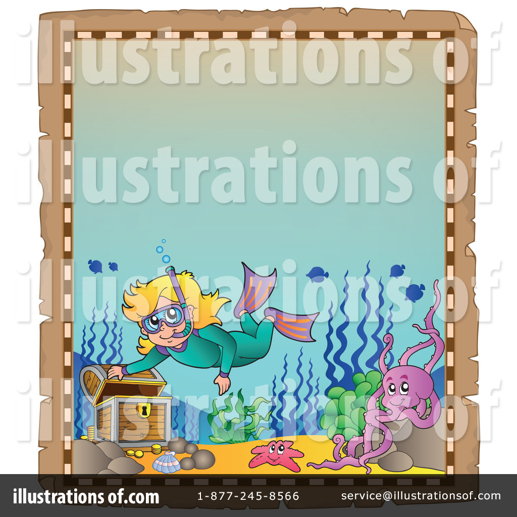 Treasure clipart sunken treasure. Illustration by visekart