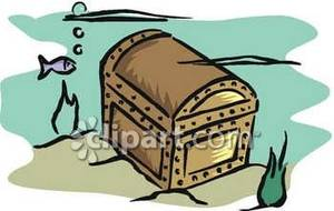 Chest royalty free picture. Treasure clipart sunken treasure