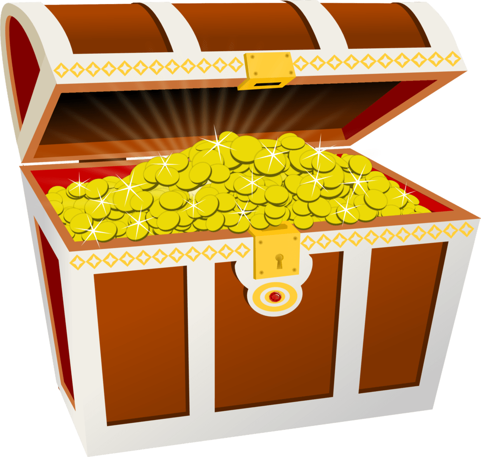 Some dudes found billion. Treasure clipart sunken treasure