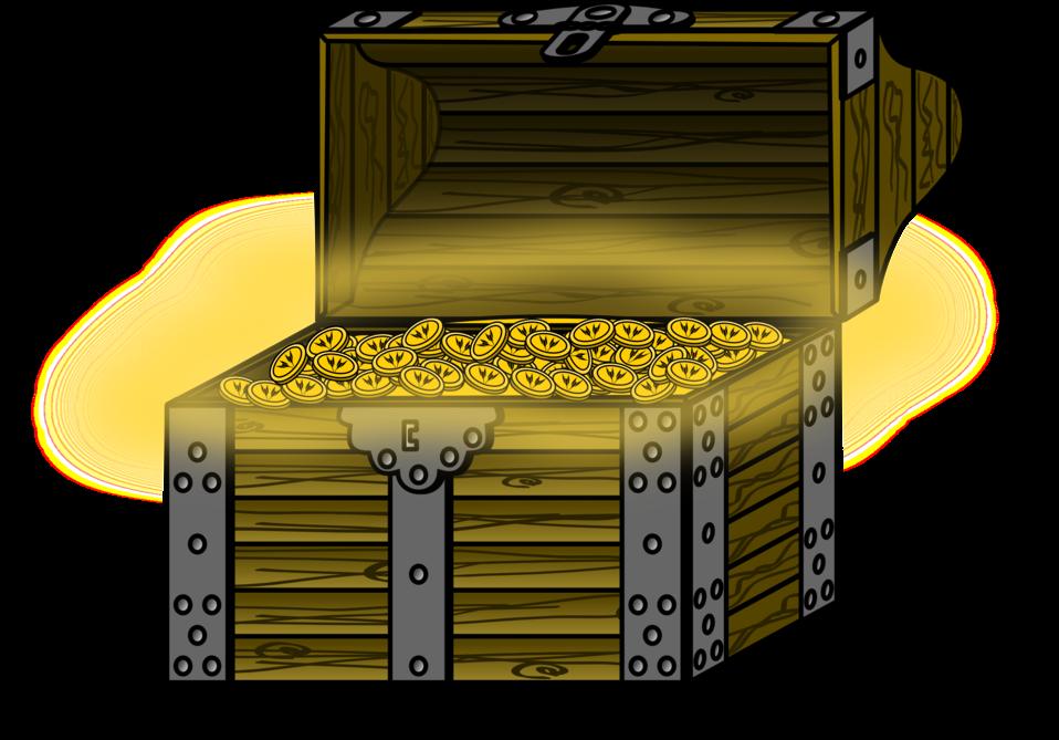 Public domain clip art. Treasure clipart treasure coin