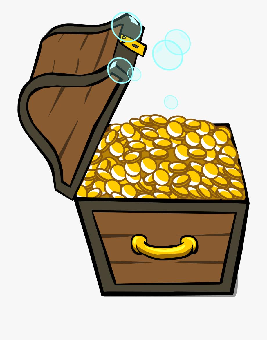 Chest transparent . Treasure clipart treasure room