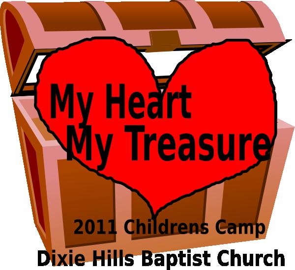 Dhbc My Heart My Treasure Clip Art at Clker