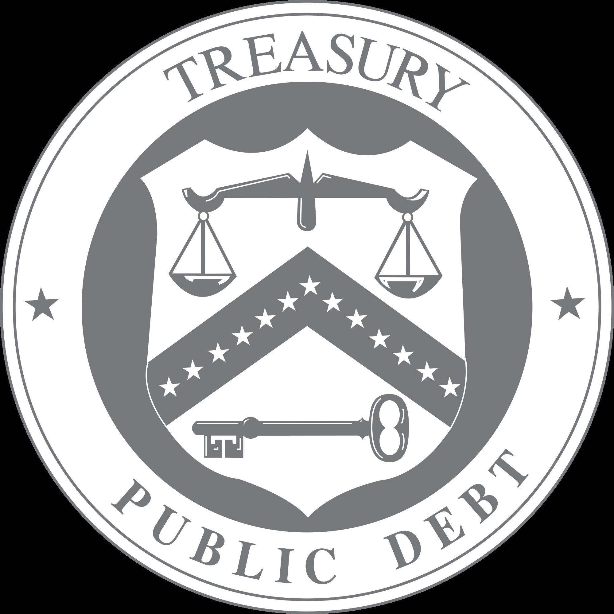 File us bureauofthepublicdebt seal. Treasure clipart treasury