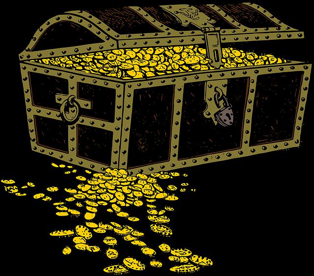 Treasure clipart treasury. Blog faith to life
