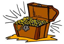 Treasure clipart tresure. Free chest cliparts download