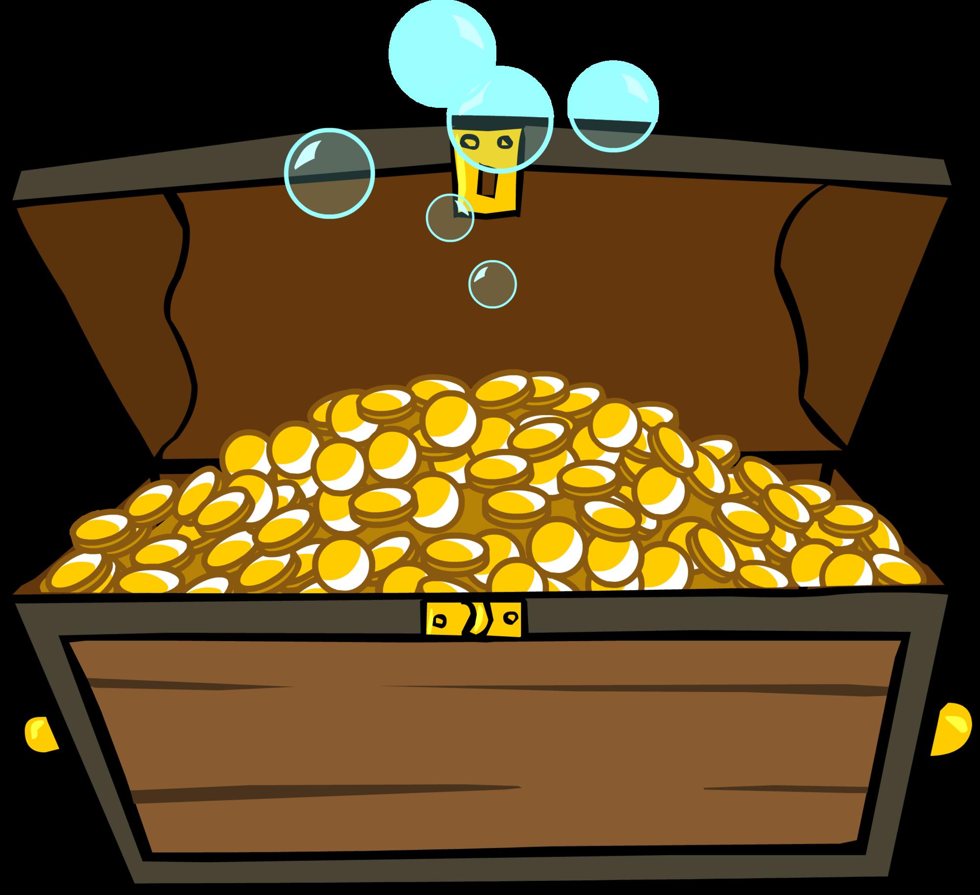 Treasure clipart under sea. Image chest id sprite