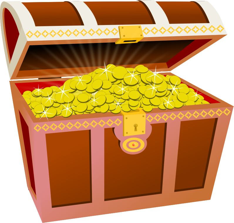 The commoner trials and. Treasure clipart valuable