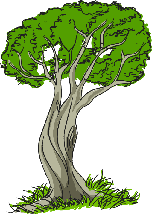 Corner cliparts free collection. Tree clipart boy
