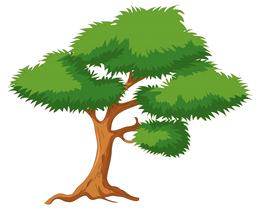 Green cartoon png free. Tree clipart chilli