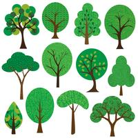 Free vector art downloads. Tree clipart cute