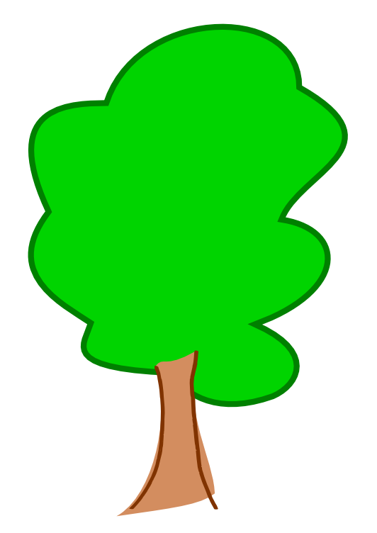 Free vector cliparts download. Tree clipart face