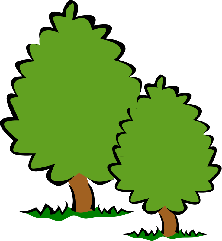 Tree clipart grass. Free download clip art