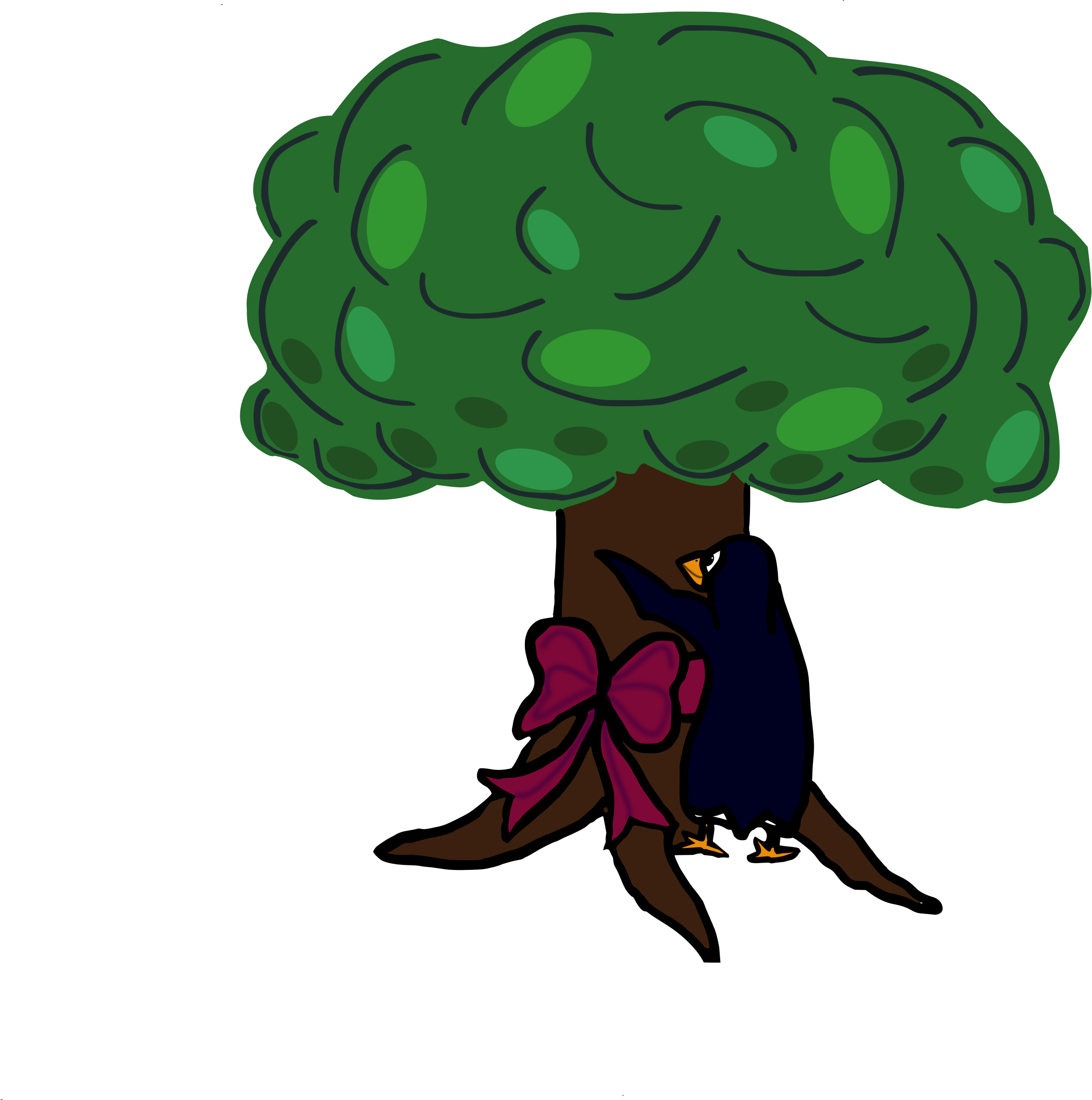 Tree clipart hug. Hugging a collection loving