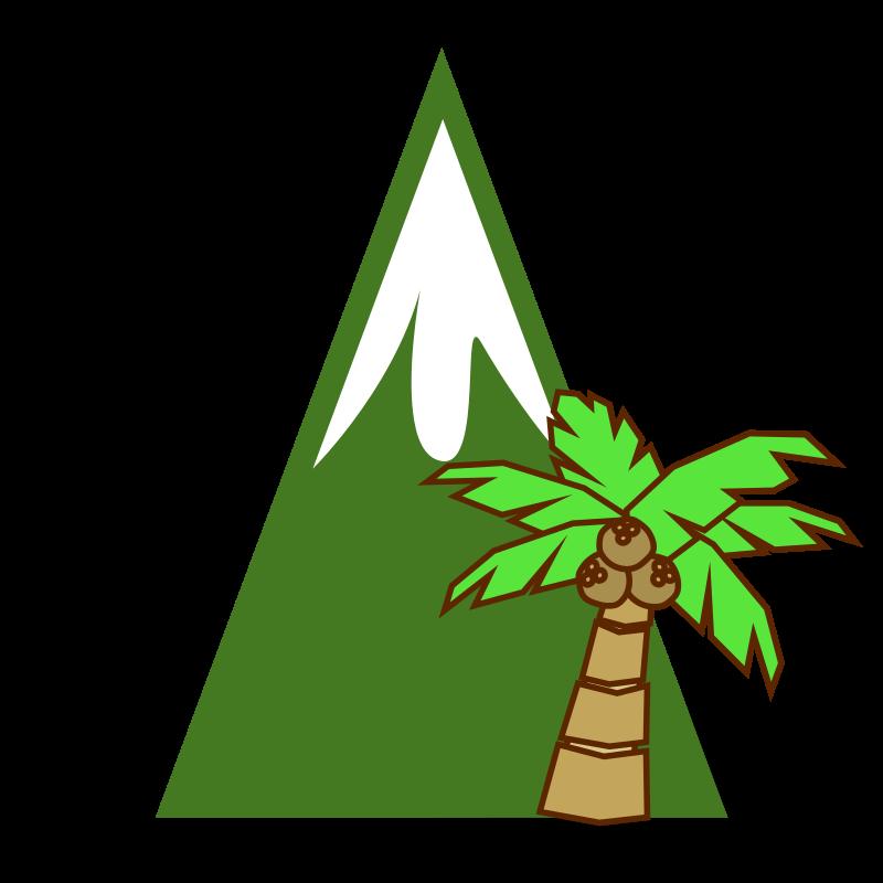 Jungle medium image png. Tree clipart mountain