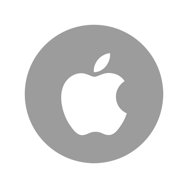 Apple color icon png. Tree clipart social media