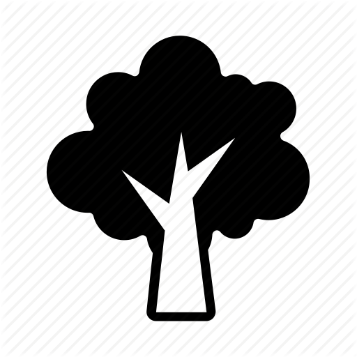 Tree icon png. Miscellaneous iii glyph style
