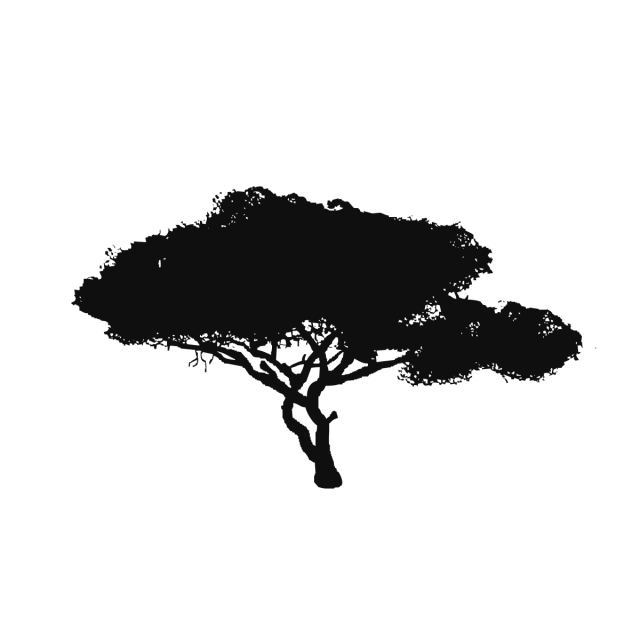 Tree vector png. Black background clipart