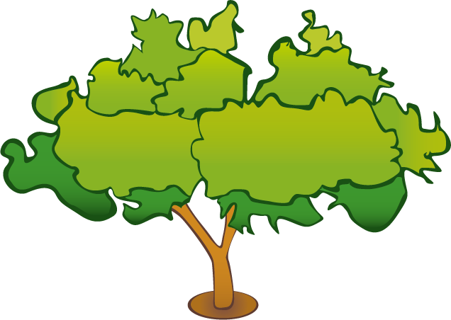 Tree vector png. By axelintu on clipart