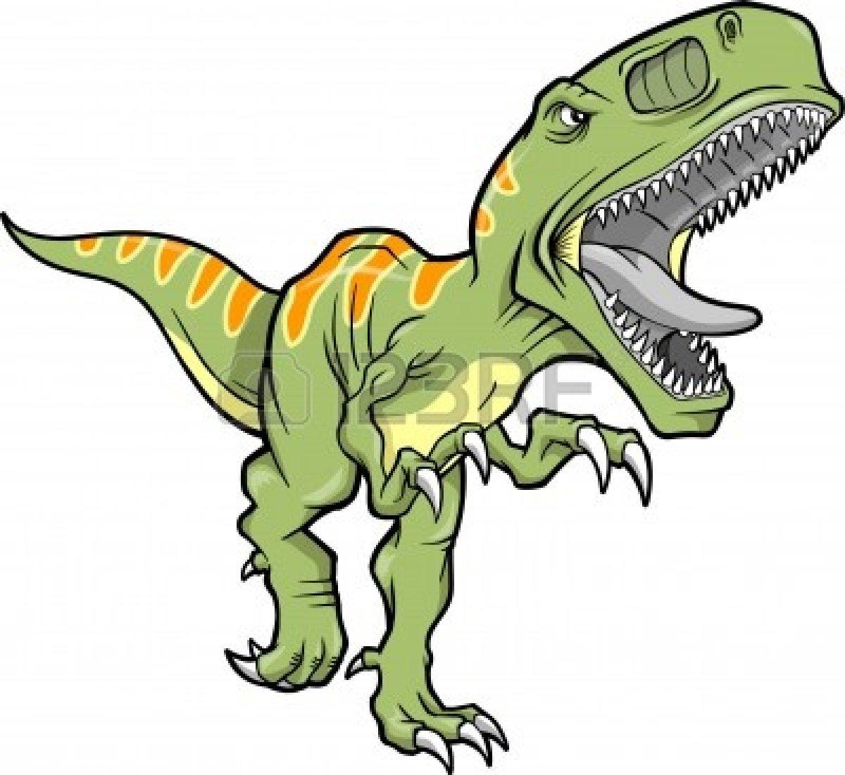 T rex dinosaur . Trex clipart