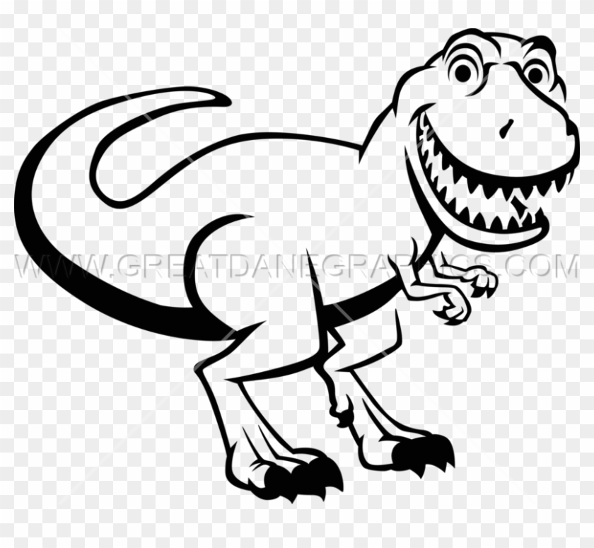 Trex clipart black and white. T rex png