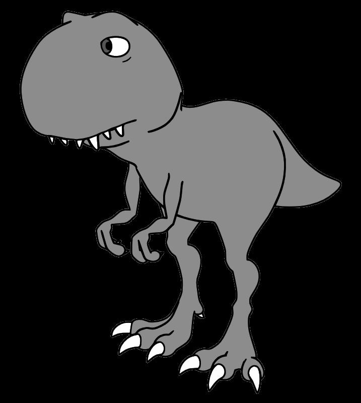 Trex clipart black and white. T rex clipartblack com