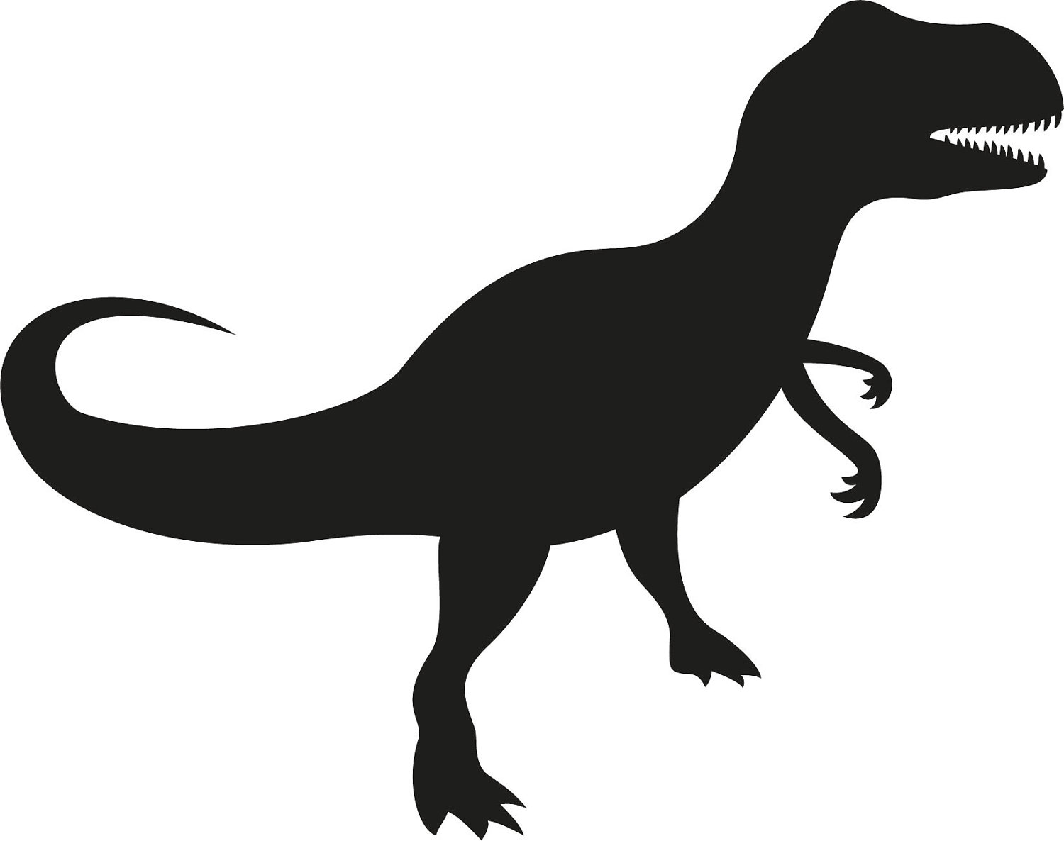 T rex free download. Trex clipart black and white