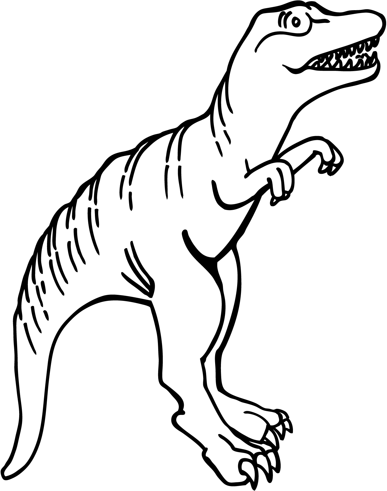 Free t rex cliparts. Trex clipart black and white