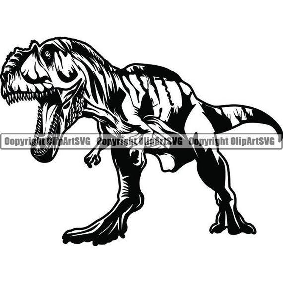 Tyrannosaurus rex dinosaur t. Trex clipart fossil