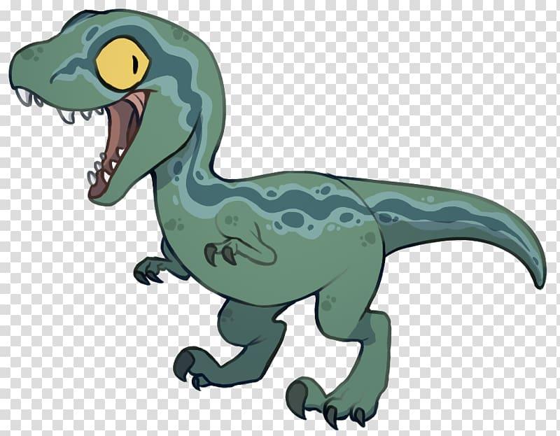 Standing green and blue. Trex clipart raptor dinosaur