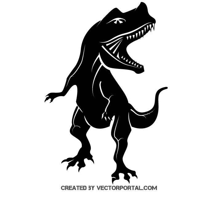Trex clipart vector. T rex graphics animal