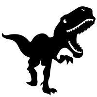 Trex clipart vector. T rex free art