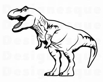 T rex etsy . Trex clipart vector