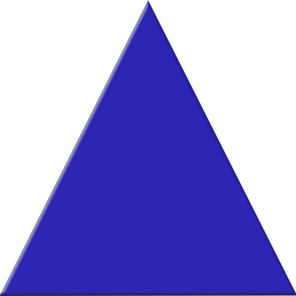 Blue free images at. Triangle clipart