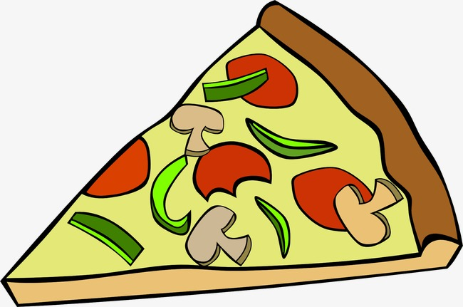 Triangle pizza clip art. Triangular clipart