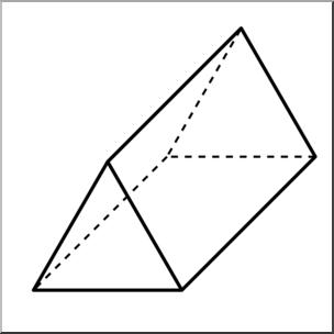 Triangular clipart. Clip art d solids