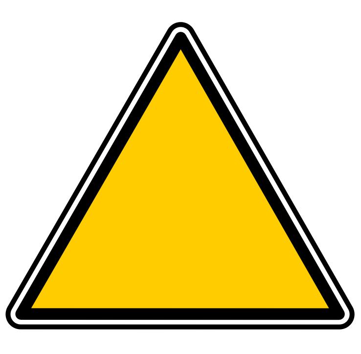 Triangular clipart. Triangle shape clip art