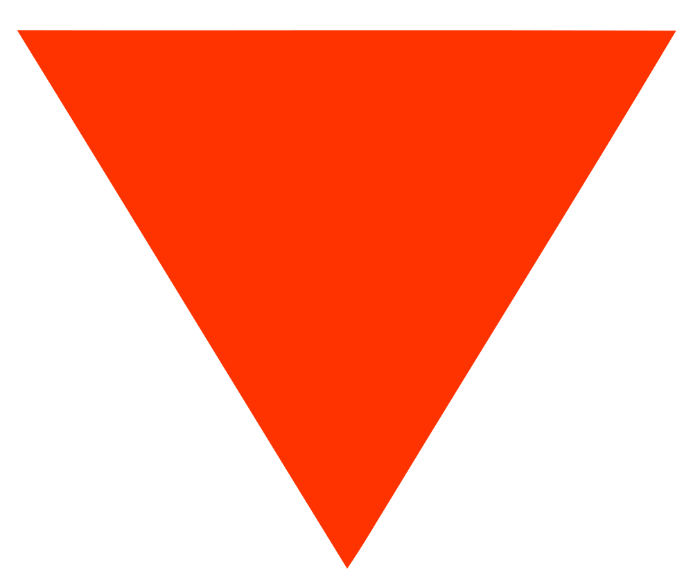 File red triangle svg. Triangular clipart clear background