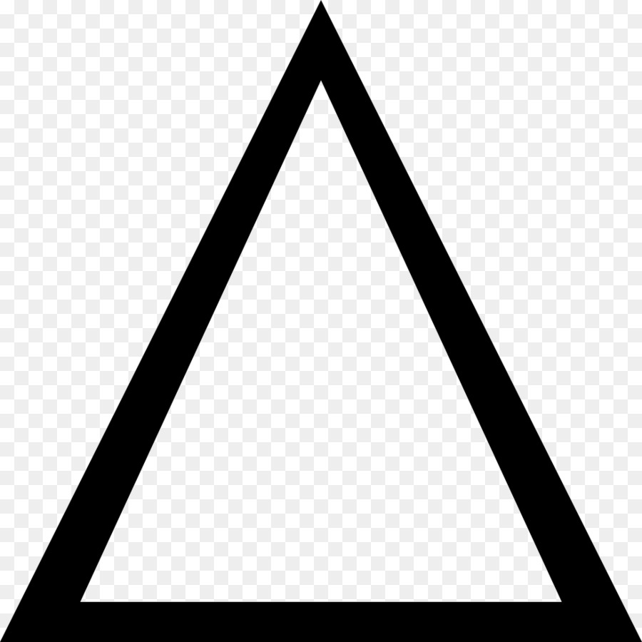 Triangular clipart clear background. Equilateral triangle text line