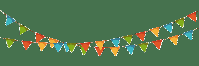 Jason b graham la. Triangular clipart festival banner