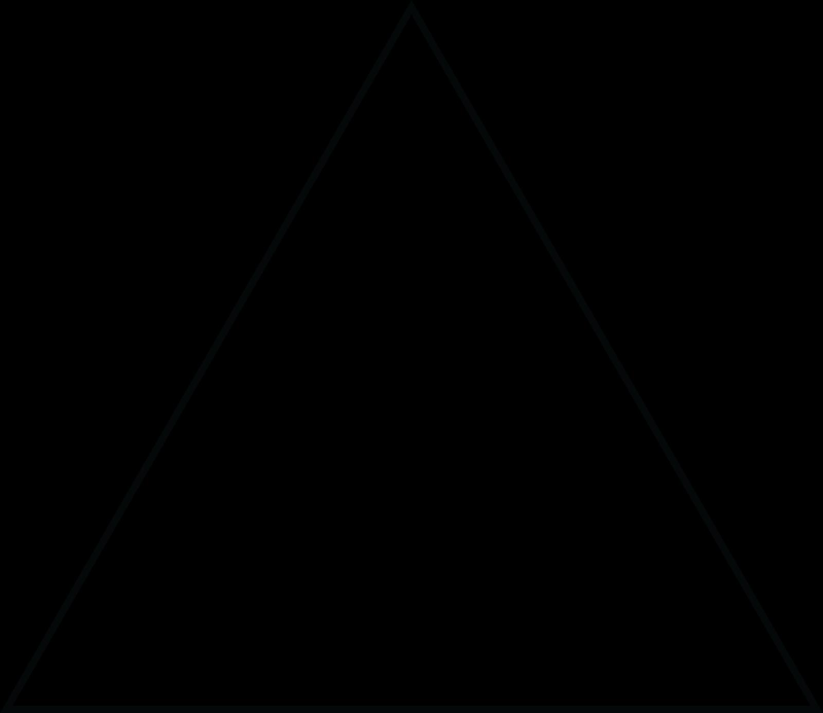 triangular clipart isosceles triangle