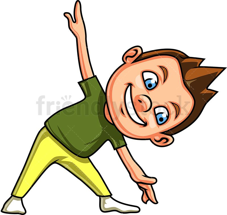 Little boy doing triangle. Triangular clipart kid