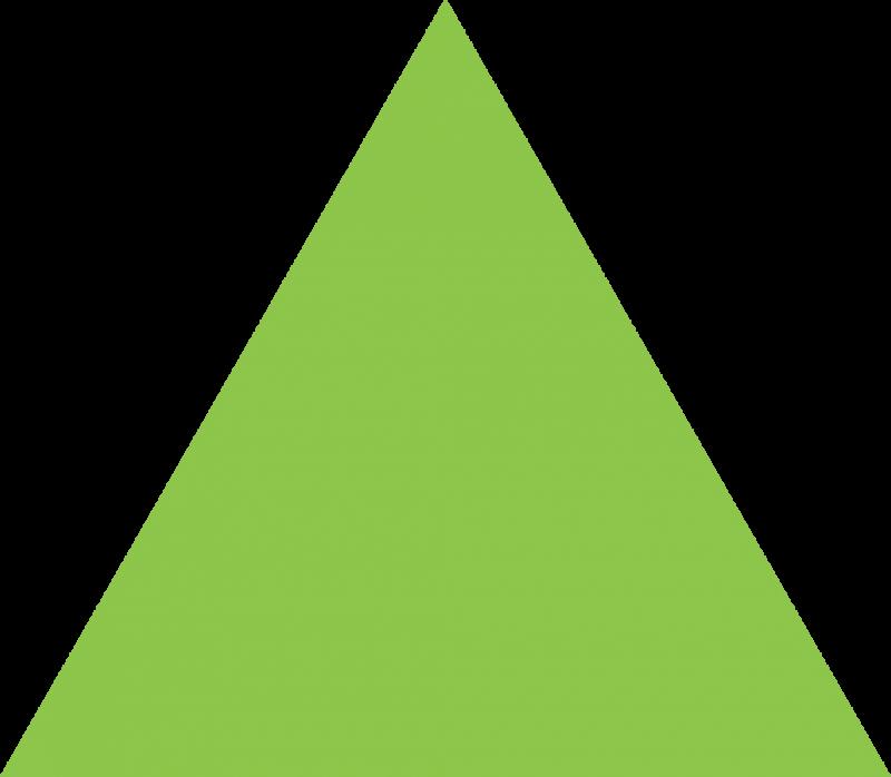 Triangular clipart light green, Triangular light green Transparent