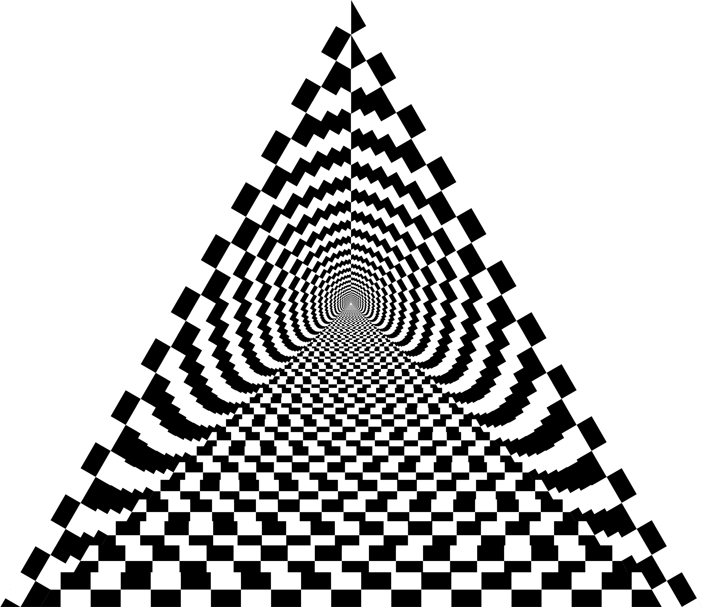Triangular clipart pyramid. Checkerboard big image png
